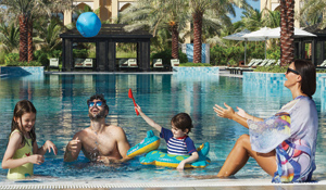 A 2 night stay for a family of 4 at DoubleTree by Hilton Resort & Spa Marjan Island - worth Dhs1,400!
