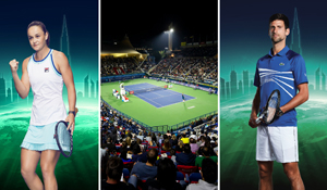 WIN! Score TEN tickets to the Dubai Duty Free Tennis Championship matches