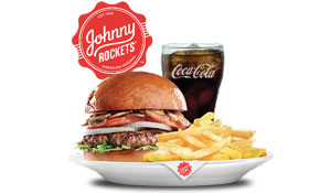 a Johnny Rockets Gift Voucher worth AED 200
