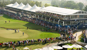 Two VIP hospitality passes to the DP World Tour Championship