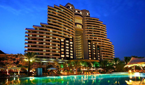 A Day Package Worth Dhs 940 at Le Meridien Al Aqah Beach Resort Inclusive of Rope Course Challenge, Full Day Access to the Pool and Beach with Lunch at Views Brasserie for Two